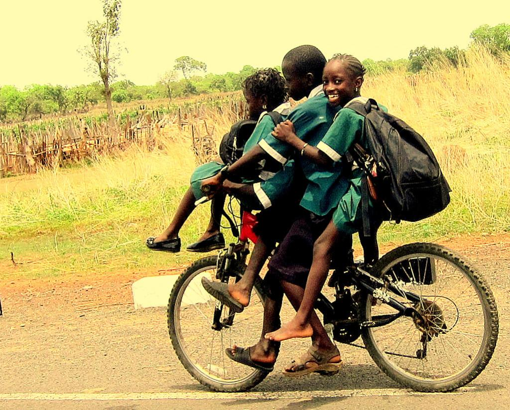 Cycling Gambia