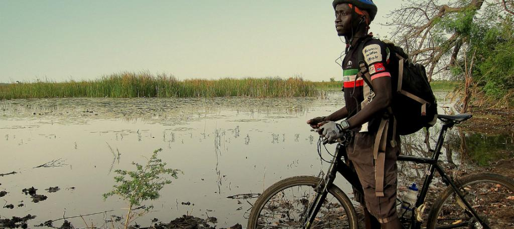 Cycling Gambia