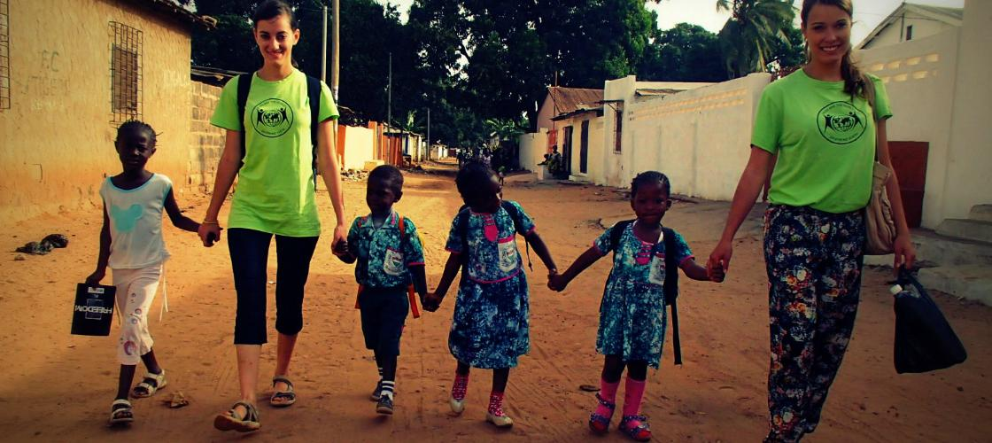 volunteer gambia